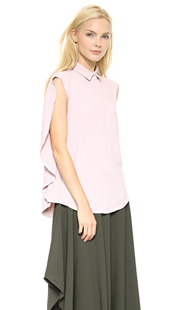MM6 Cape Back Top