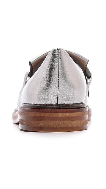 MM6 Loafers wtih Fringe Detail