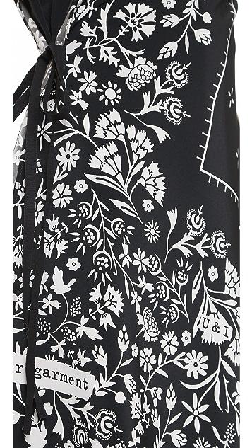 MM6 Scarf Wrapped Dress