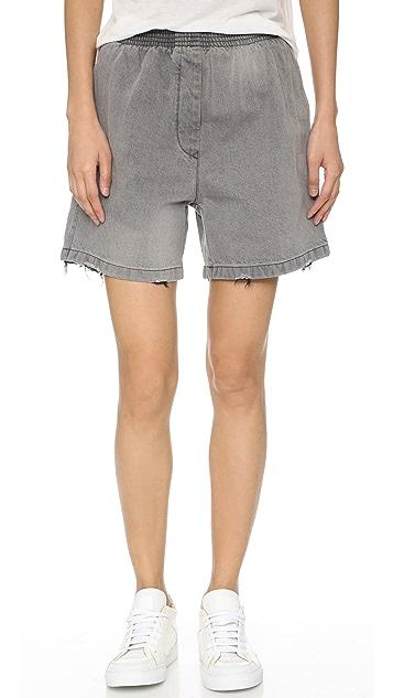 MM6 Stonewashed Shorts