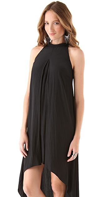 Michael Angel Tube Neck Hi / Lo Gown