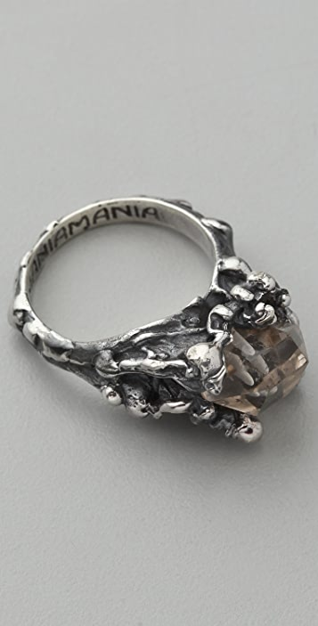 Mania Mania The Eternal Ring with Quartz
