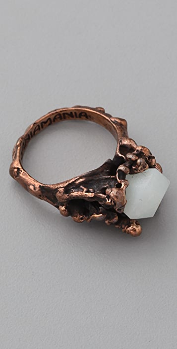Mania Mania The Eternal Ring with Amazonite