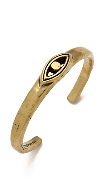 Mania Mania Awakening Eye Brass Bangle