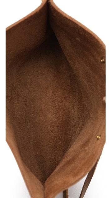 Mara Carrizo Scalise Large Envelope Clutch