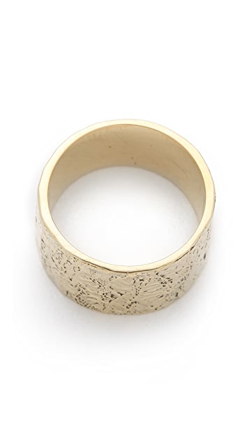 Mara Carrizo Scalise Hammered Ring