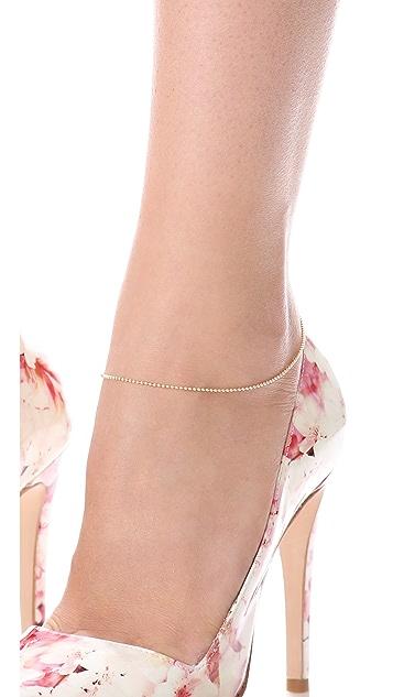 Mara Carrizo Scalise Ball Chain Anklet
