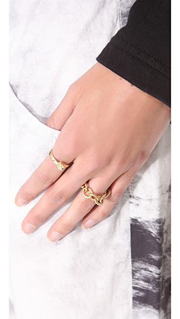 Mara Carrizo Scalise Chunky Chain Ring