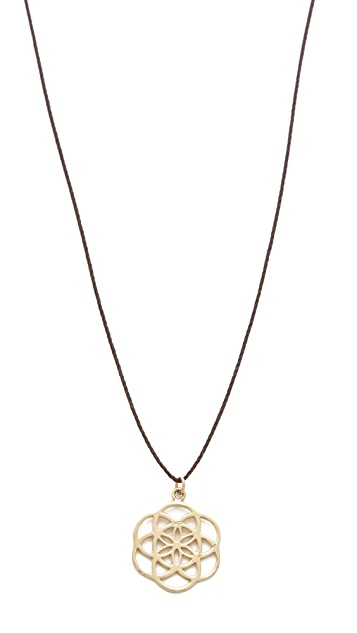 Mara Carrizo Scalise Seed of Life Necklace