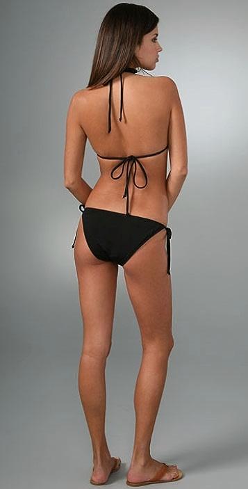 Mara Hoffman Solid String Bikini
