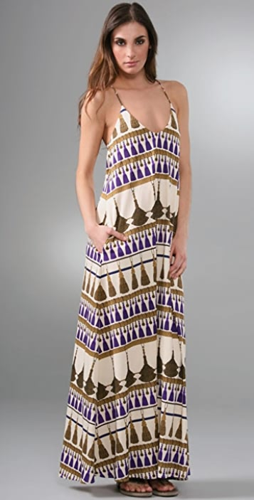 Mara Hoffman Long Spaghetti Strap Dress