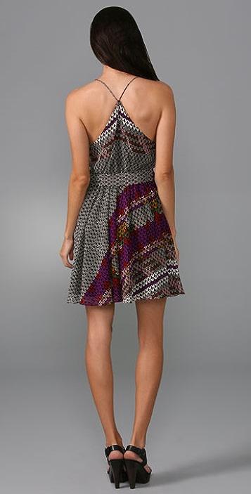 Mara Hoffman Gathered Party Dress