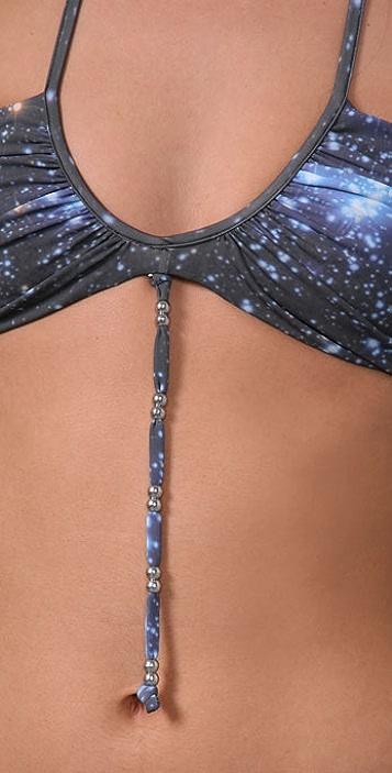 Mara Hoffman Galaxy Ruched Bikini
