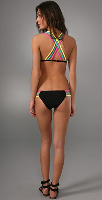 Mara Hoffman Three Strap Bikini
