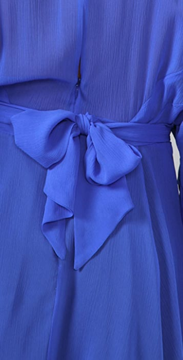 Mara Hoffman Beaded Mini Kimono Dress