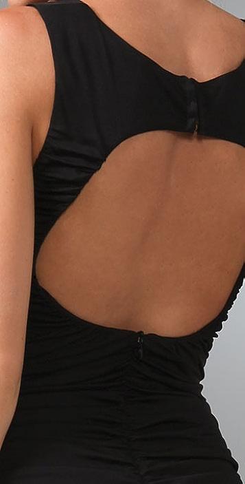 Mara Hoffman Ruched Open Back Dress