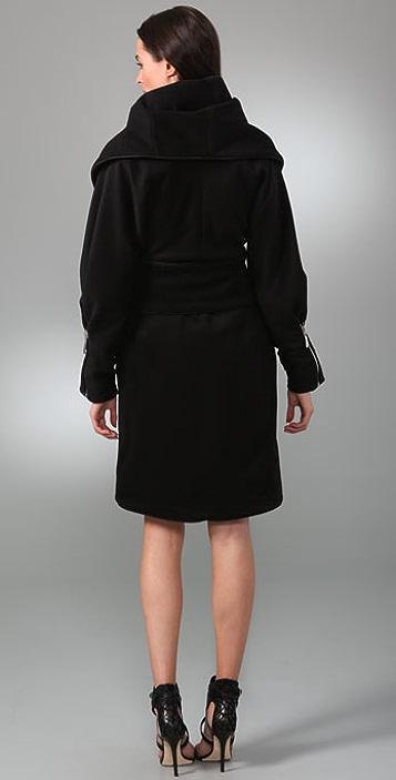 Mara Hoffman Shawl Coat with Zip Cuffs