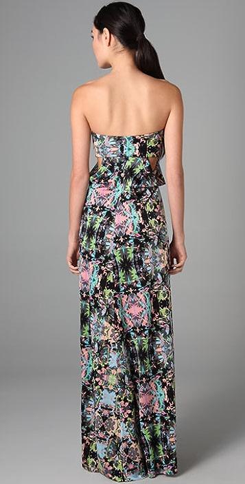 Mara Hoffman Twist Drape Long Dress