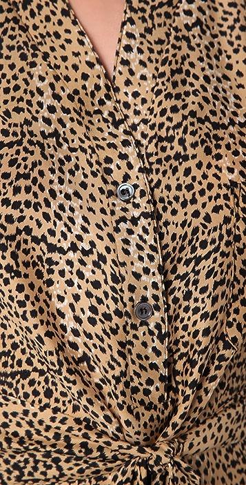 Mara Hoffman Vent Safari Dress