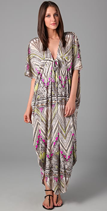 Mara Hoffman Long Poncho Dress