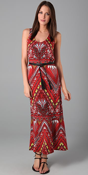Mara Hoffman Belted Tank Long Dress