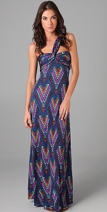 Mara Hoffman Twist Front Long Dress