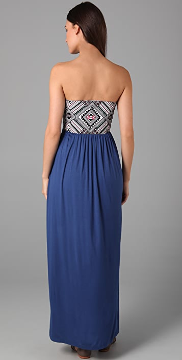 Mara Hoffman Embroidered Bustier Dress