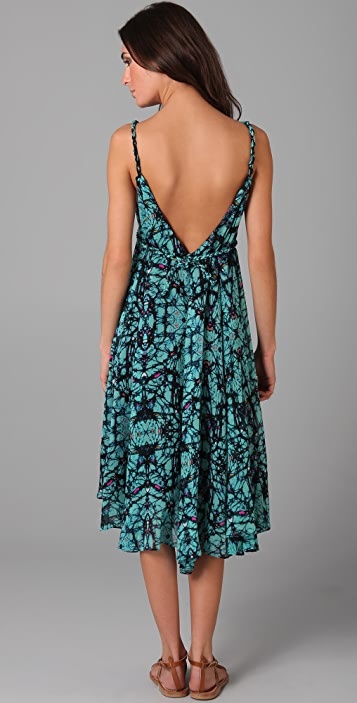 Mara Hoffman Tea Length Float Dress