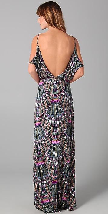 Mara Hoffman Open Back Maxi Dress