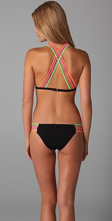 Mara Hoffman 3 Strap Bikini