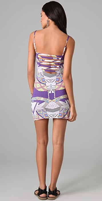 Mara Hoffman Strap Back Dress