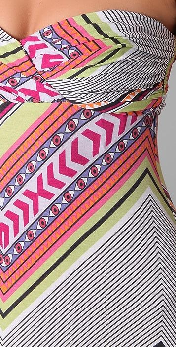 Mara Hoffman Bandeau Strapless Maxi Dress