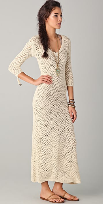 Mara Hoffman Long Crochet Dress Shopbop