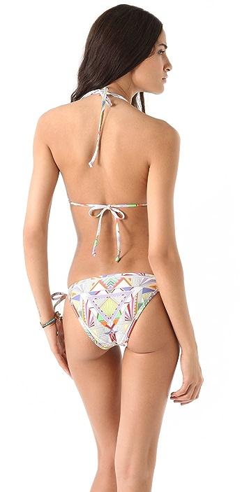 Mara Hoffman Print String Bikini Set