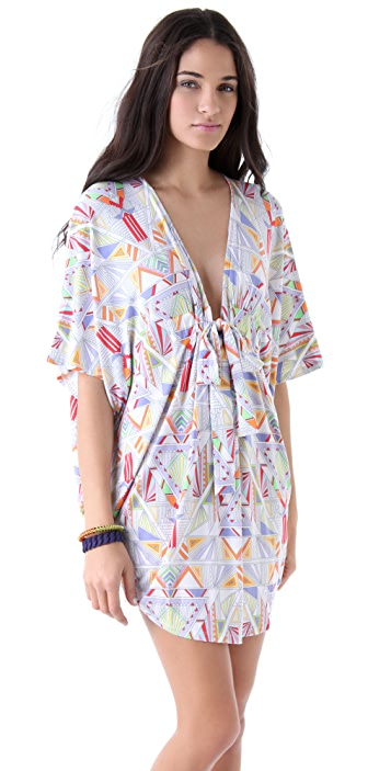Mara Hoffman Beach Poncho Cover Up