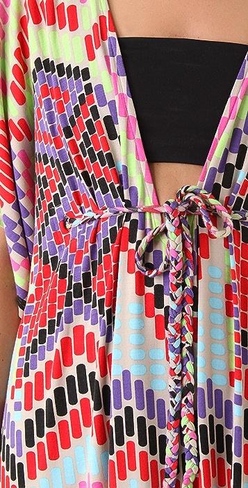 Mara Hoffman Modal Braided Tie Poncho