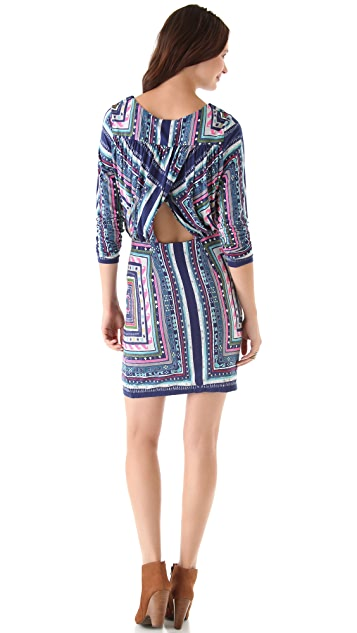 Mara Hoffman Ruched Keyhole Dress