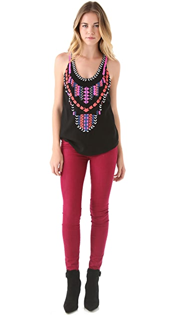 Mara Hoffman Beaded Wool Tank Top