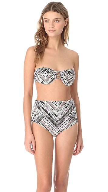 Mara Hoffman Nomad Bandeau Bikini Top