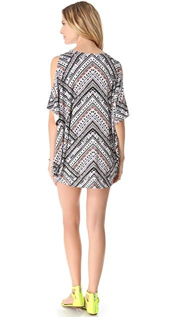 Mara Hoffman Nomad Cover Up Poncho