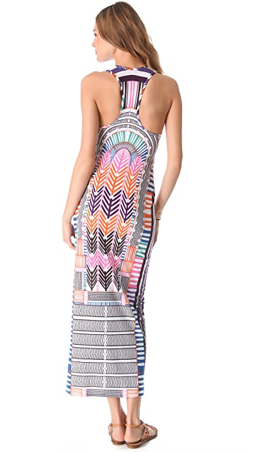 Mara Hoffman Electric Casino Cover Up Maxi Dress
