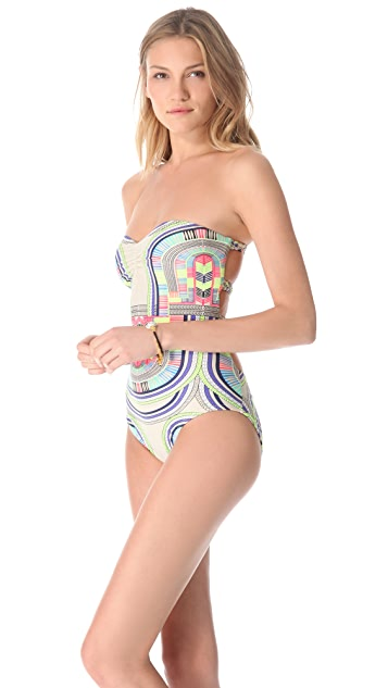 Mara Hoffman Electric Casino One Piece
