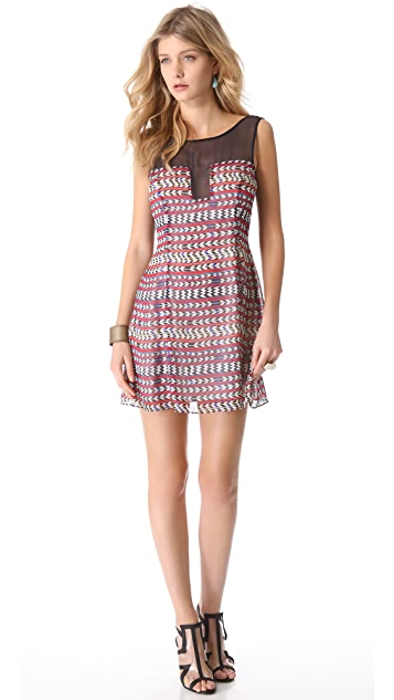 Mara Hoffman Combo Shift Dress