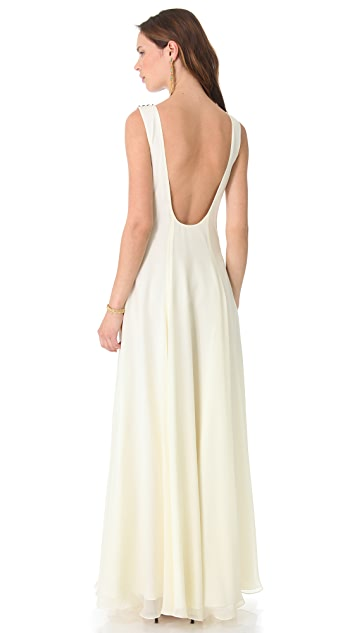 Mara Hoffman Beaded Gown