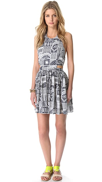 Mara Hoffman Cutout Day Dress