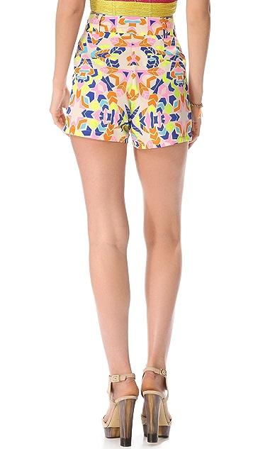 Mara Hoffman High Waisted Shorts