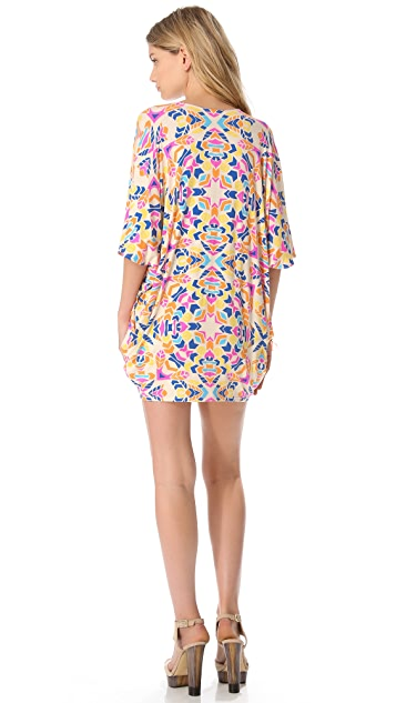 Mara Hoffman Button Down Poncho Dress