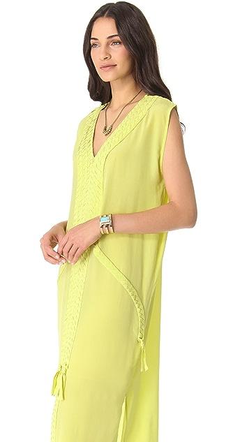 Mara Hoffman Braided Dashiki Dress