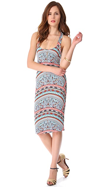 Mara Hoffman Rainbow Cover Up Dress