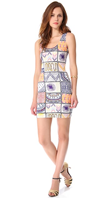 Mara Hoffman Quilts Mini Cover Up Dress
